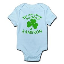 Personalized for Kameron Onesie