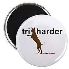 Tri Harder Magnet