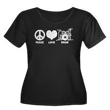 Peace Love Drum T