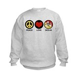 Peace Love Sicilia Sweatshirt
