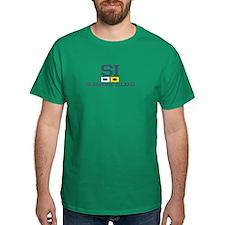 Seabrook Island SC - Nautical Design T-Shirt