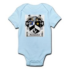 Alexander Coat of Arms Infant Creeper