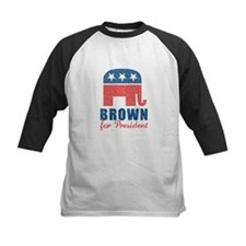 Brown for President Tee