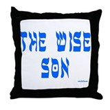 The Wise Son Passover Throw Pillow