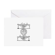 Dionysus Greeting Cards (Pk of 10)