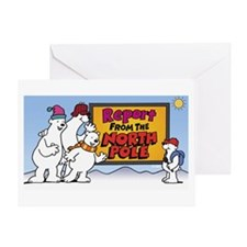 North Pole Greeting Card