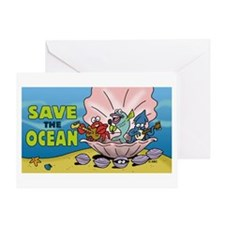 Save the Ocean Greeting Card