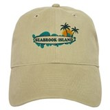 Seabrook Island SC - Surf Design Baseball Cap