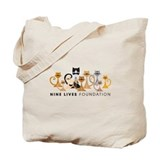 NLF Logo and Website Tote Bag