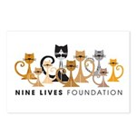 Nine Lives Foundation Postcards (Pkg of 8)