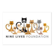 Nine Lives Foundation Postcards (Pkg of 8)