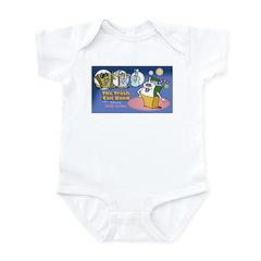 Trash Can Band Infant Bodysuit