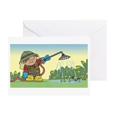 Gardener Greeting Card
