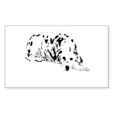 dalmation dog Decal