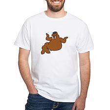 Walrus White T-Shirt