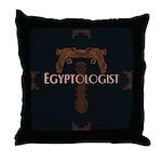 Egyptologist Throw Pillow