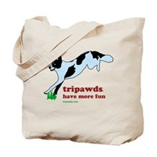 Tripawds Have More Fun Tote Bag