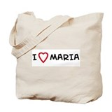 I Love MARIA Tote Bag
