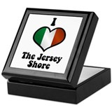I Love the Jersey Shore Keepsake Box