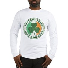 Instant Irish [vintage] Long Sleeve T-Shirt