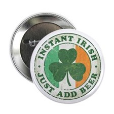 "Instant Irish [vintage] 2.25"" Button (10 pack)"