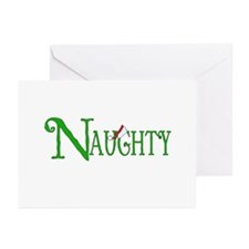 Naughty for Christmas Greeting Cards (Pk of 10)