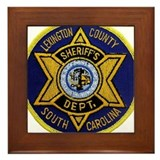 Lexington County Sheriff Framed Tile