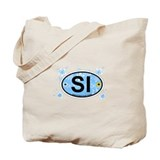 Seabrook Island SC - Oval Design Tote Bag