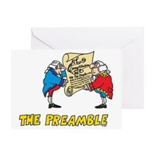 The Preamble Greeting Card