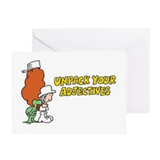 Adjectives Greeting Card