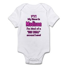Madison Infant Bodysuit