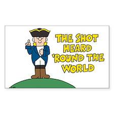 The Shot Sticker (Rectangle)