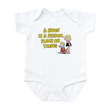 A Noun Infant Bodysuit