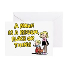 A Noun Greeting Cards (Pk of 10)