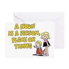 A Noun Greeting Cards (Pk of 10)