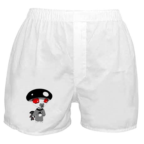 Lil Shroomy (Blackcap) Boxer Shorts