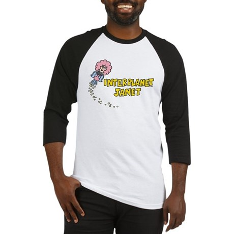 Interplanet Janet Baseball Jersey