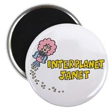 Interplanet Janet Magnet