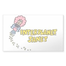 Interplanet Janet Decal