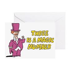 Magic Number Greeting Card