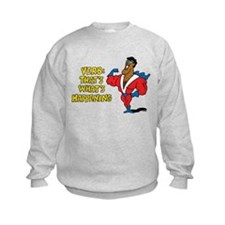 Verbs Kids Sweatshirt