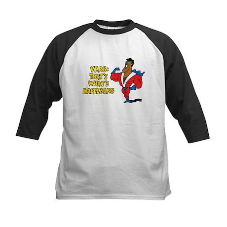 Verbs Kids Baseball Jersey
