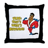 Verbs Throw Pillow