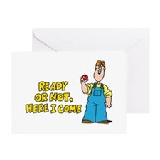 Ready or Not Greeting Card
