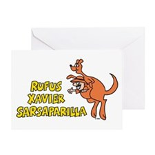 Rufus Xavier Greeting Card