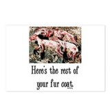Rest of Your Fur Coat Postcards (Package of 8)