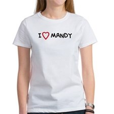 I Love MANDY Tee