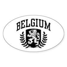 Belgium Decal
