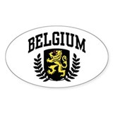 Belgium Decal