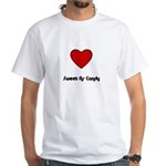 SWEET AS CANDY White T-Shirt